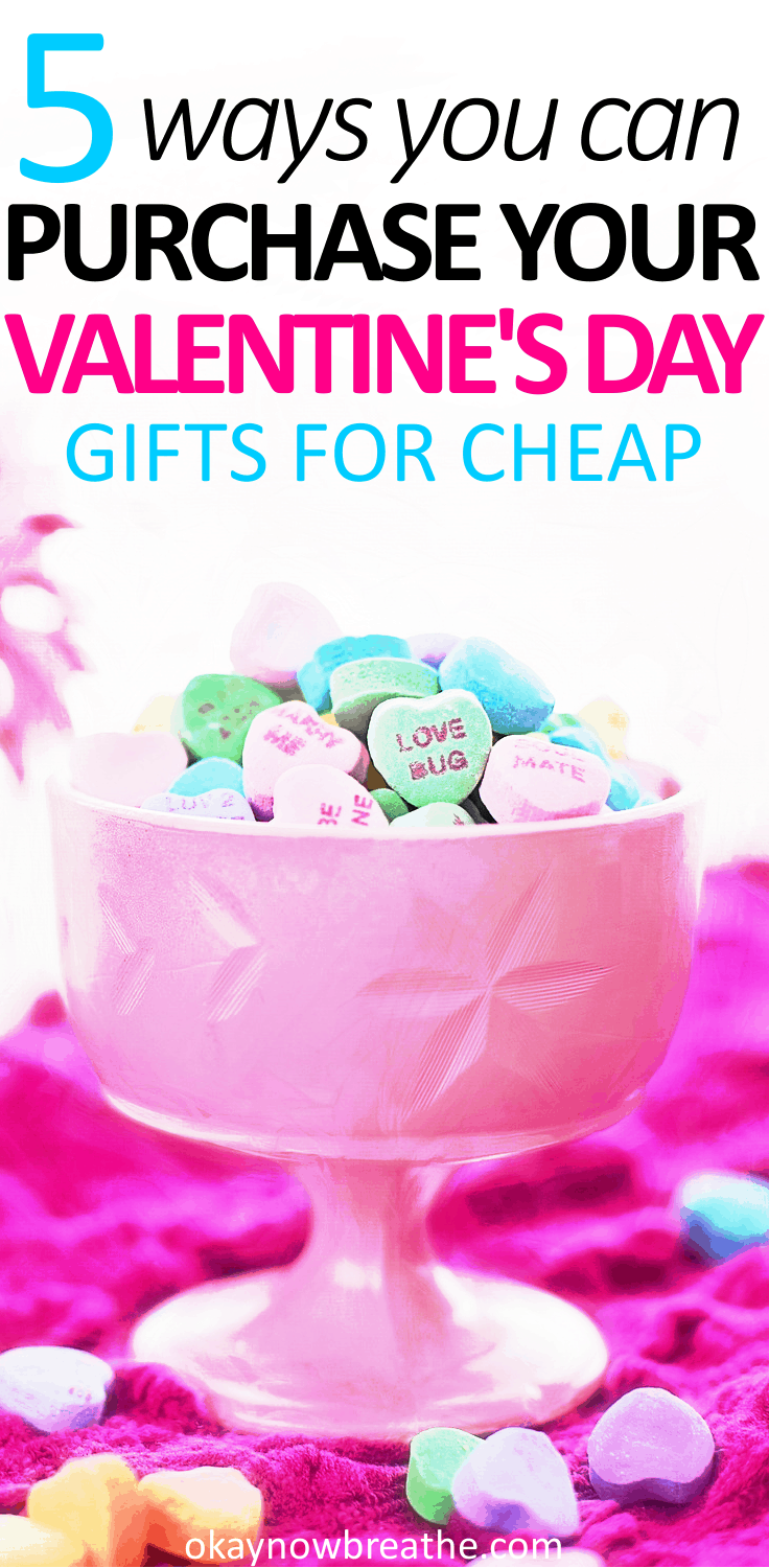 Valentine's Day should not be about how much money you can spend on your significant other. In fact, here are 5 ways to save money on Valentine's Day gifts.