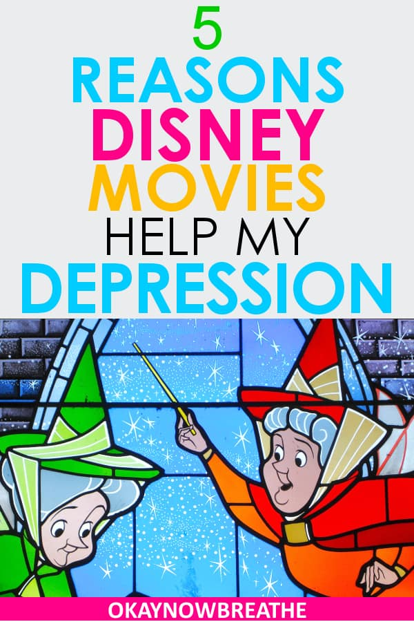 In life, depression is the villain. Disney movies are the heroes. They're so mesmerizing and enchanting. Watching them is a cure to my depression symptoms.