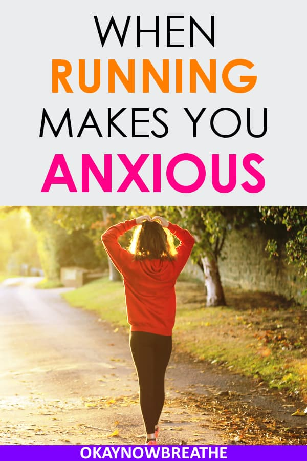 Running can feel exactly like a panic attack in some people. This post gives insight in why running might feel like anxiety and what to do about it.