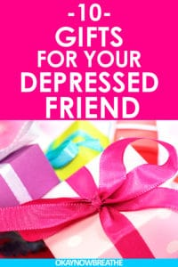 Presents should always be meaningful and thoughtful, especially when your friend has depression. Here are 10 thoughtful gifts for your depressed friend.