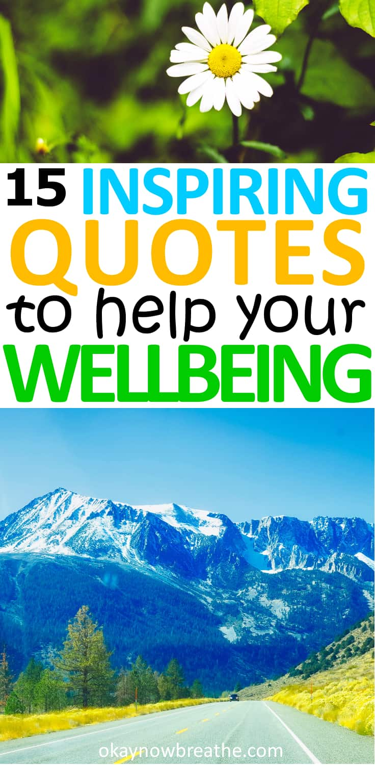 15 Inspirational Quotes to Help Improve Your Mental Health