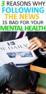 3 Reasons to Stop Following the News for Better Mental Health