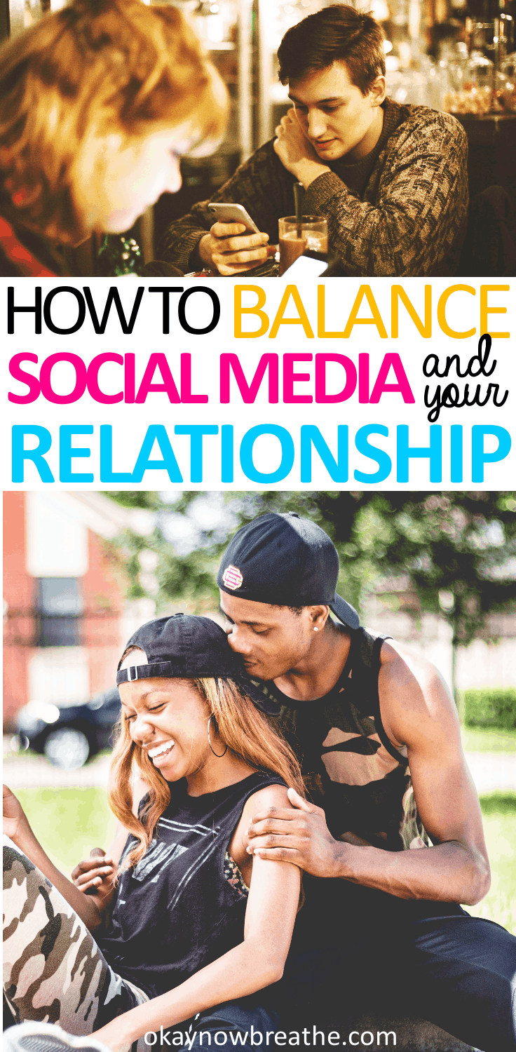 Social media is now one of the top causes for divorce. Here are 4 simple tips to help balance social media and your relationship: