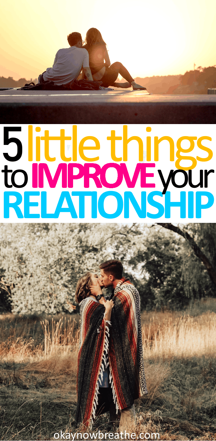 You have to actively choose to show your partner love. These next 5 tips are little things you can do today that can help improve your relationship.