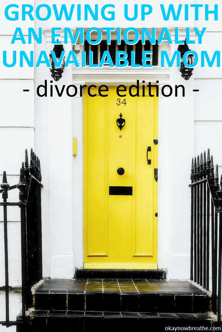 My mom handled divorce completely wrong and chose money over her kids. Here is part 3 of growing up with an emotionally unavailable mom.