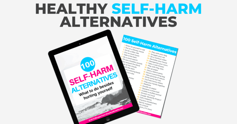100 Healthy Self-Harm Alternatives to Cope with Self-Injury Urges